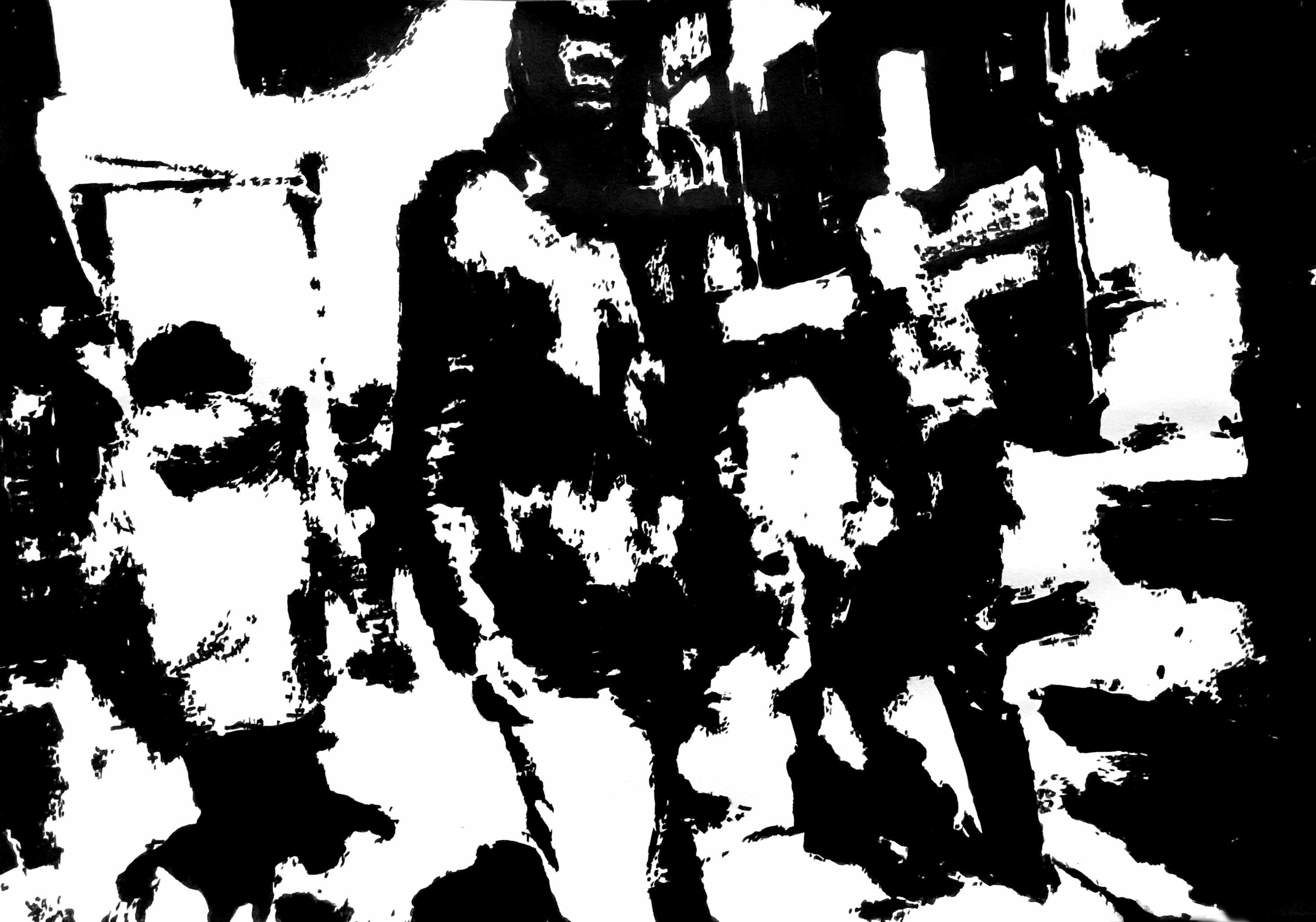 """"""" Opus IV """" - Encre de Chine sur papier Canson - 0.42 X 0.30"""
