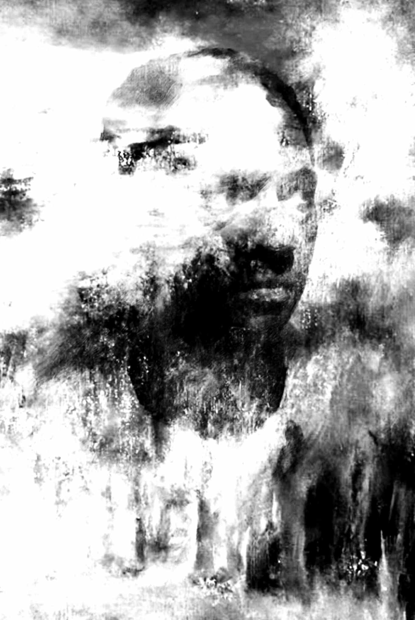 """"""" L'étranger """" - Huile sur toile - 1.22 X 0.80 - Prix sur demande -"""
