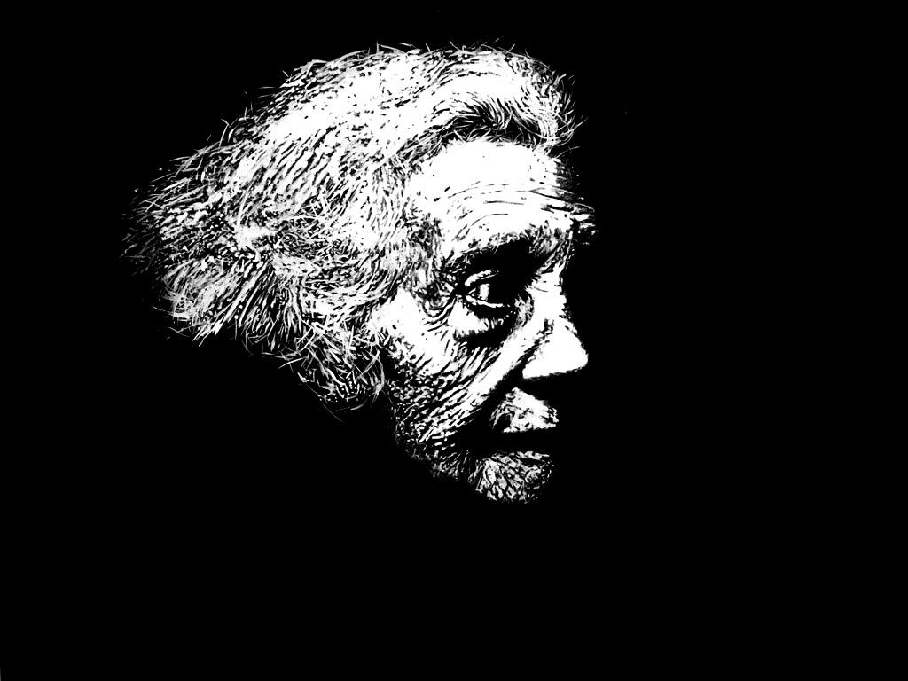 """"""" Jeanne """" - Dessin à la Pierre Noire sur papier Canson avec rehauts de blanc - 0.65 X 0.50 - Prix sur demande -"""